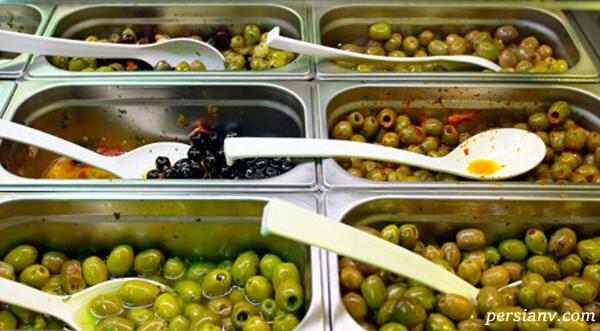روش نگهداری میوه ی زیتون در منزل