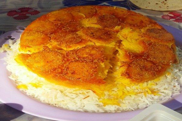 تهیه برنج در پلوپز
