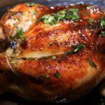 طرز تهیه مرغ بریان در فر
