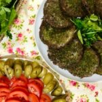 کوکو سبزی پخت با مایکروویو