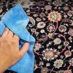 درخشان کردن و برطرف کردن پرزهای خوابیده فرش