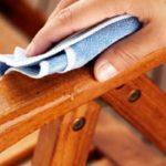بر طرف کردن لکه ها از روی وسایل چوبی