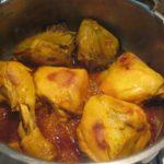 پختن مرغ به صورت آب پز و از بین رفتن بوی مرغ