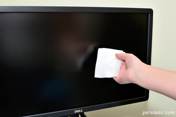 چگونه تلویزیون LCD یا پلاسما را تمیز می کنید؟