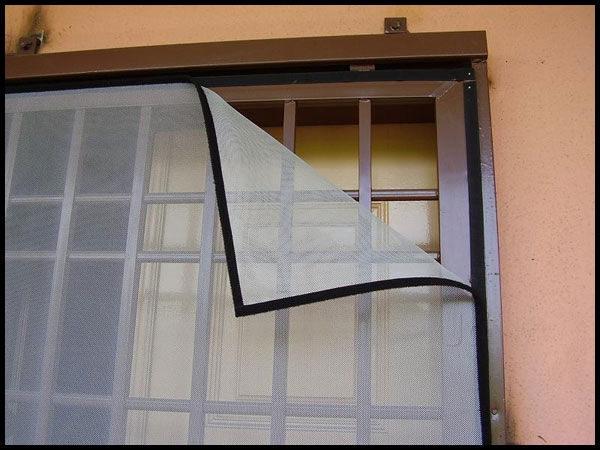 روش توری زدن به پنجره