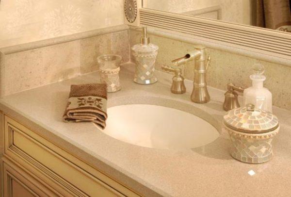 چگونه حمام و دستشویی منزلتان را براق کنید