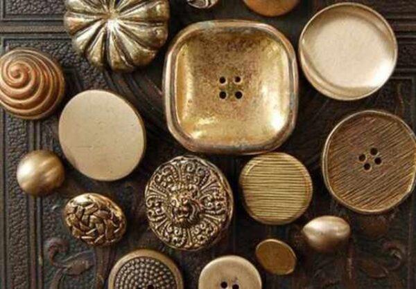 دکمه های طلایی