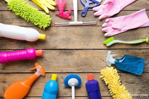 تمیز کردن لوازم خانگی