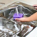 از بین بردن بوی بد سینک ظرفشویی