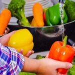 روش شستن صحیح سبزیجات