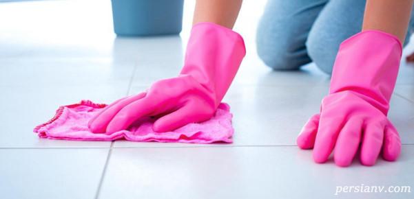 تمیزکردن سرامیک