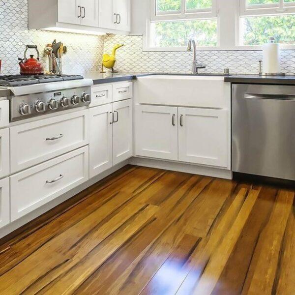 فرش در آشپزخانه