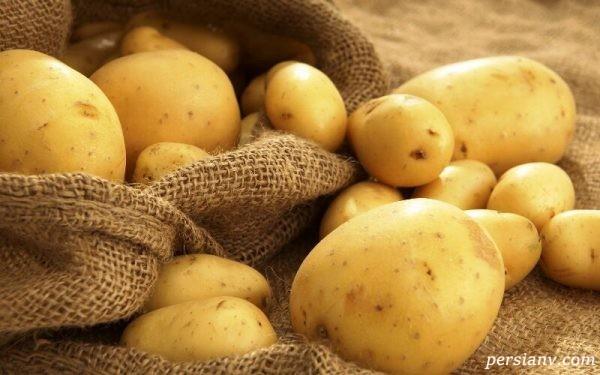 جلوگیری از ترک خوردن سیب زمینی