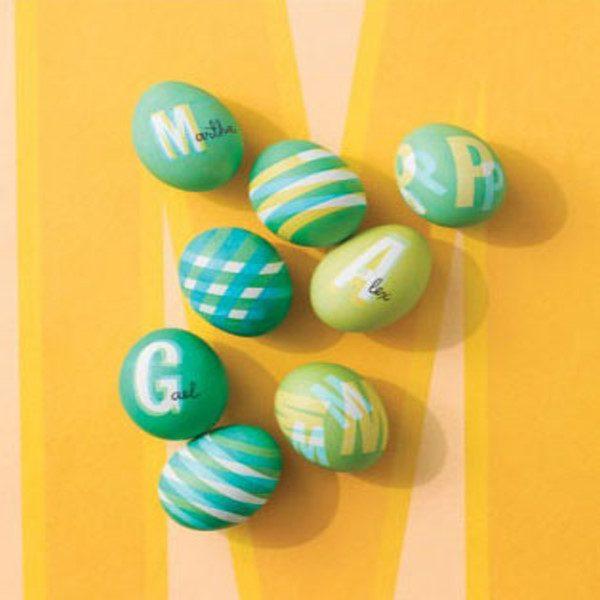 آموزشی ساده و خلاقانه: رنگ کردن تخممرغ هفتسین +عکس