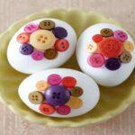 ایدههای نوروزی تزیین تخم مرغ بدون رنگ