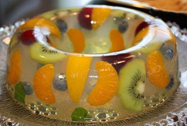 تزئین های زیبا از انواع میوهها
