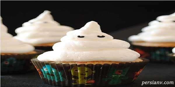 با دستور زیر یک کاپ کیک ترسناک درست کنید