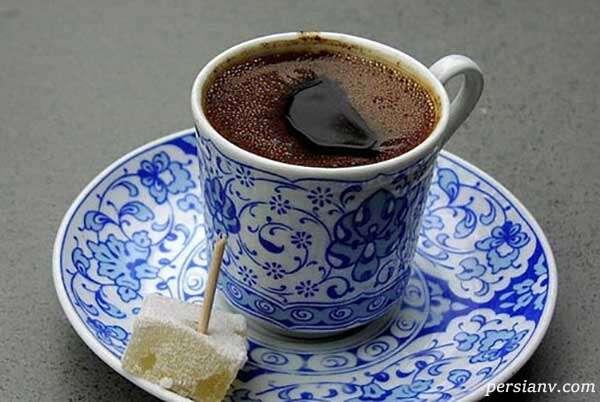 طرز تهیه قهوه ترک