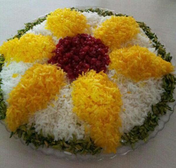 تزیین برنج مجلسی برای مهمانی های شما