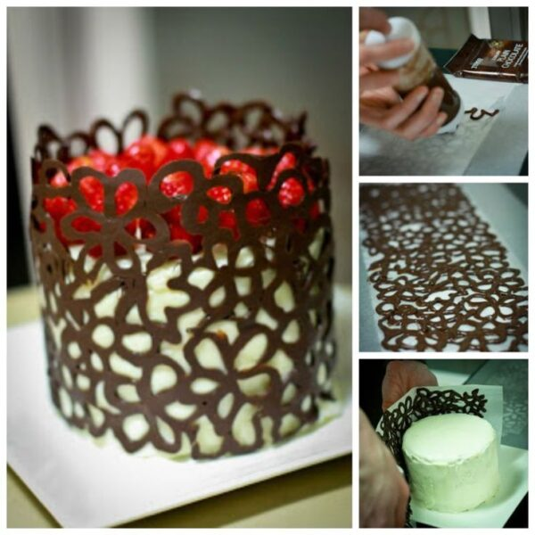 تزیینات شکلات