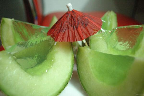 ژله در پوست میوه