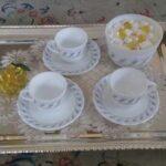 ایده جالب و جدید برای تزیین سینی چای