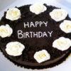 تزیین کیک شکلاتی خانگی + تصاویر