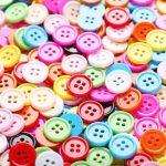 طرز ساخت جاشمعی با دکمه های رنگی