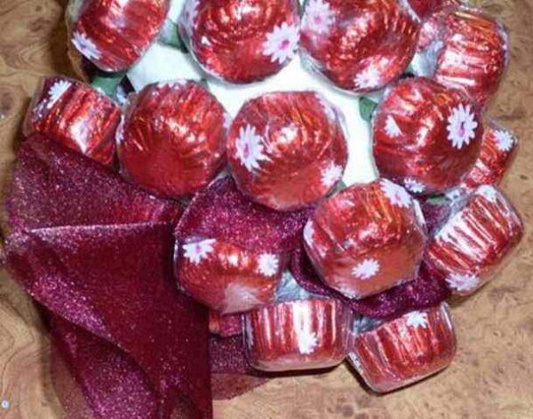 ایده ایی جالب برای تزیین شکلات برای تولد