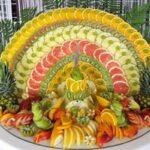 نمونه هایی از میوه آرایی