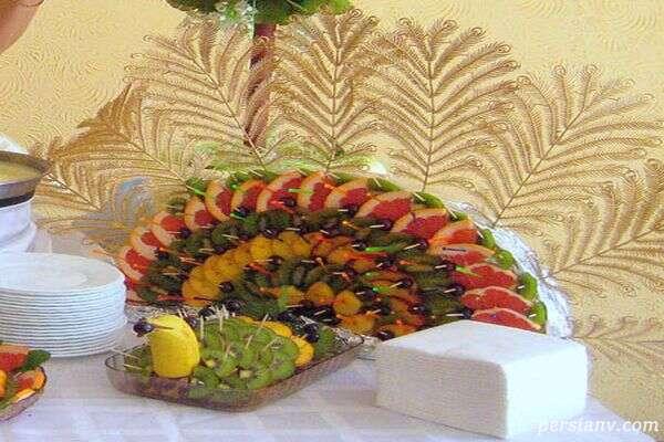 چیدمان و تزئین میوه