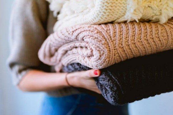 شستن لباس بافتنی