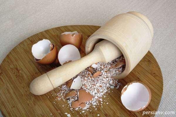 نمونه هایی از تزیینات ظروف با پوسته تخم مرغ و خمیر دورگیر