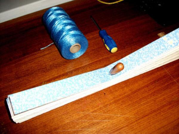 ساخت کرکره کاغذی