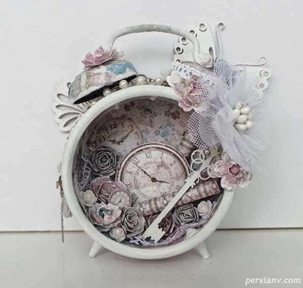 ساعت کوکی تزیینی