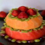 آموزش تهیه کیک تولد میوه ای +تصاویر