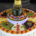 ایده هایی برای تزیین میوه روی میز