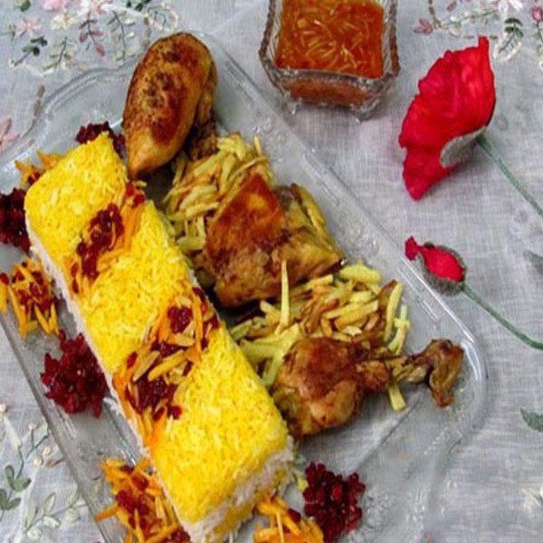 تزیینات بسیار زیبا برنج برای سفره افطار+تصاویر