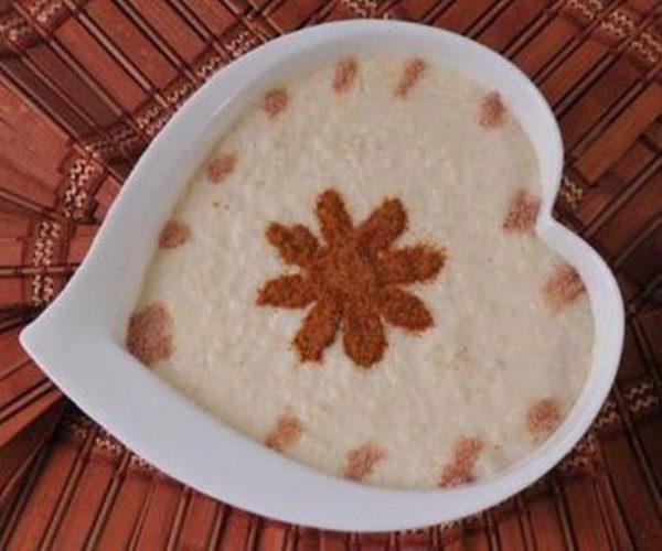 تزیین فرنی و شیربرنج