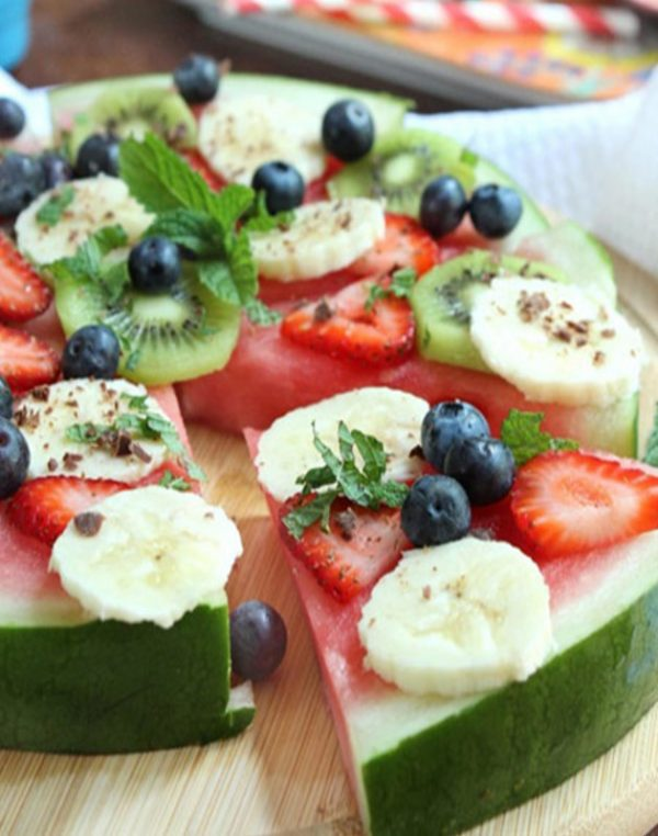 تزیین هندوانه افطاری