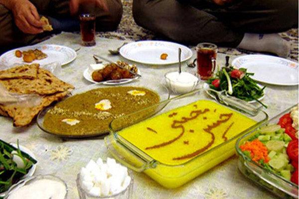 سفره آرایی ماه رمضان