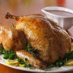 تزیینات و دورچینی مرغ شکم پر+تصاویر