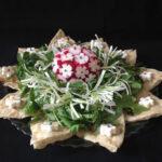 زیباترین تزیینات نان و پنیر و سبزی سفره عقد