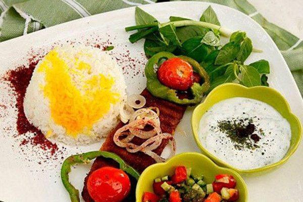 تزیین غذاهای افطاری