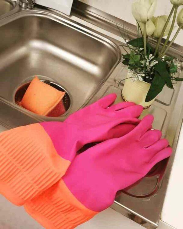 دستکش ظرفشویی