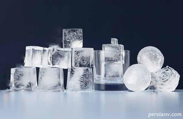 درست کردن یخ شفاف برای مهمانی ها