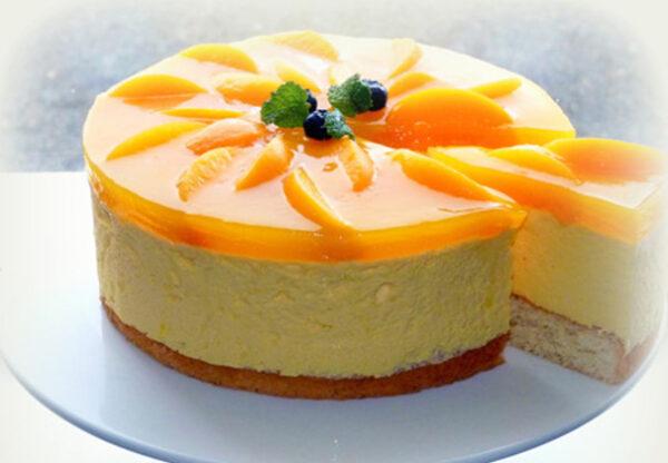 ایده هایی برای تزیین کیک اسفنجی با میوه و ژله