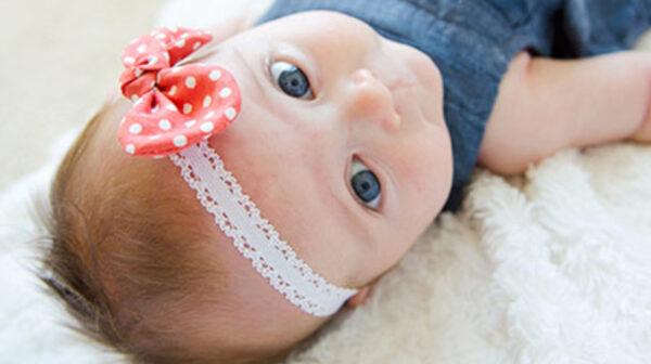 مراحل درست کردن تل پارچه ای برای نوزاد درخانه