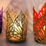 ایده ای برای ساخت جاشمعی با تیله