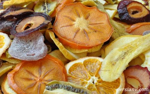 آموزش مرحله ای خشک کردن میوه ها در آفتاب